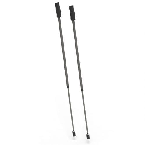 Pro ski poles provide even more complete ski stance and adjustable in length. Suitable for all body heights. This poles can be mount on the Pro ski simulator frames. Max lenght is 135cm (53.15 inch).