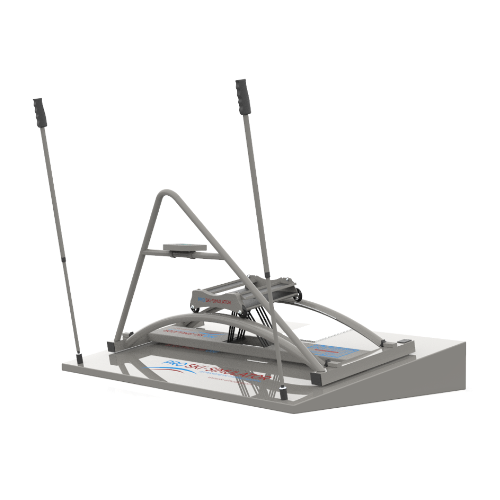 Designed for advance & pro skiers. The revolutionary rotating platform allows the perfect ski turn simulation.